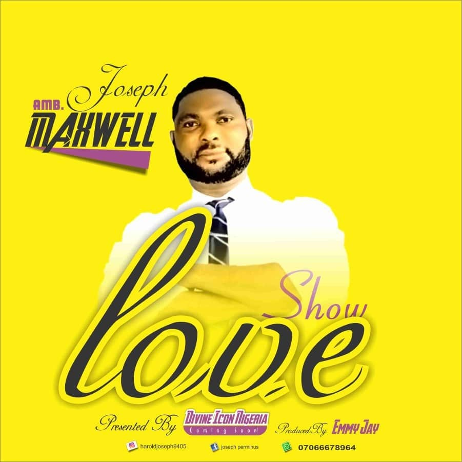 Divine ICON Season 7 | Amb. Maxwell Joseph – Releases his Debut Single | Titled – Show Love